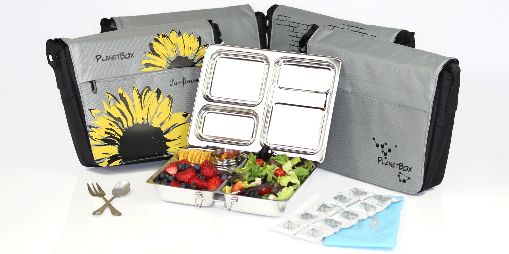 PlanetBox-Launch-Complete-Set-with-Food-Fork-and-Spoon-Set-Coldkit-Lunchbox-XL