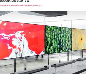 LG's new OLED TV