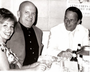 Gloria Greer, Jimmy Van Heusen and Frank Sinatra