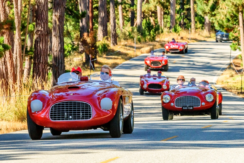 Cruise Into S Pebble Beach Concours DElegance The Worlds - Classic car show california